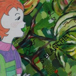 Lilas-Rose et ses pinceaux magiques 1