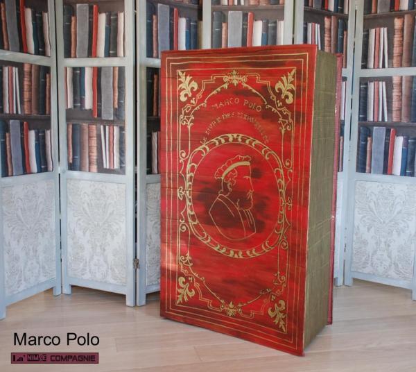 """""""Le livre des merveilles"""" spectacle Marco Polo et la princesse de chine"""