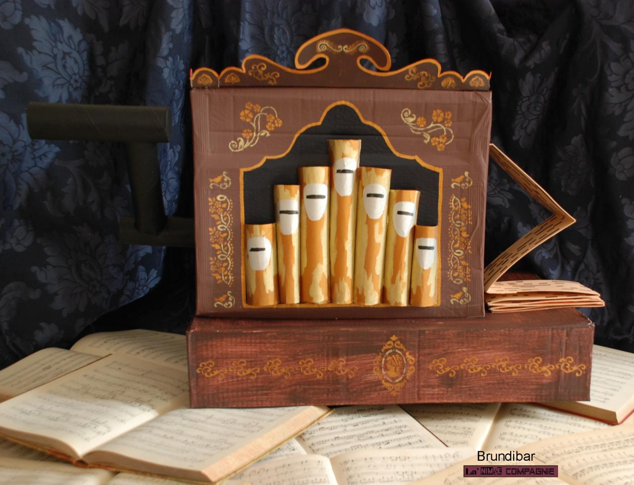 L'orgue de barbarie Brundibar