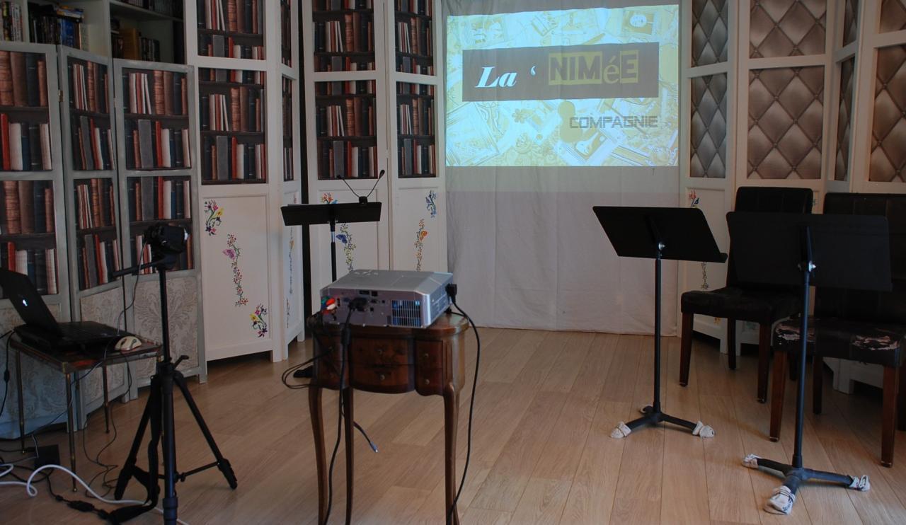 Le studio de répétitions
