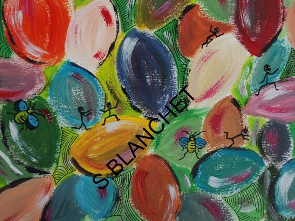 Lilas-Rose et ses pinceaux magiques 16