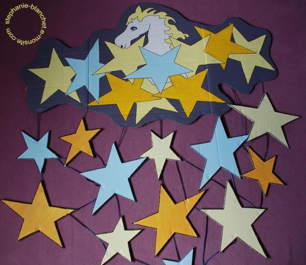 Un cheval dans les étoiles