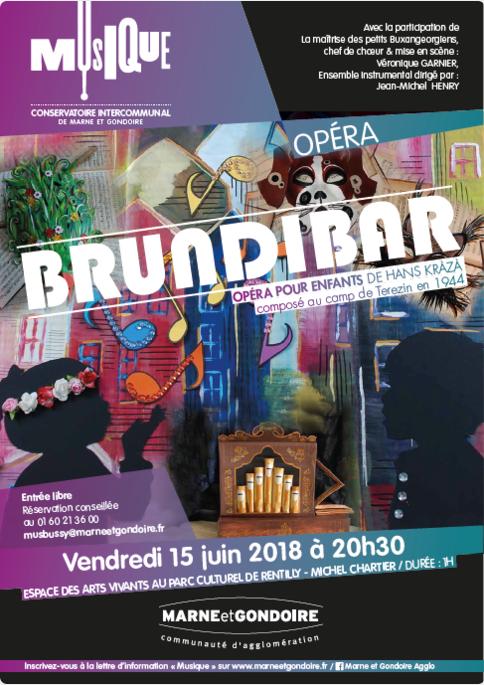 Affiche BRUNDIBAR 2018