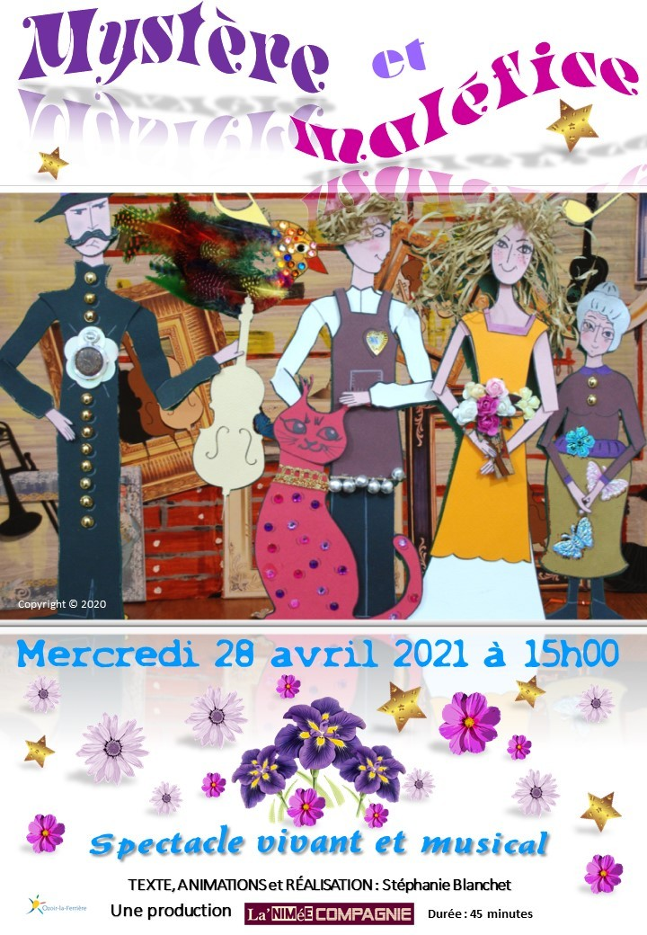 Affiche Champigny 28 avril 2021