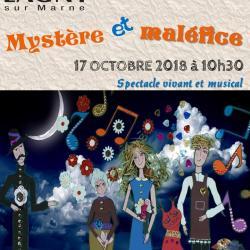 Spectacle à  Lagny-sur-Marne (77) Octobre 2018