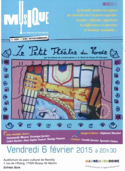Affiche Petit théâtre du monde 2015