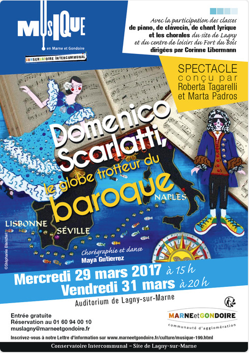 Scarlatti, le globe-trotter du baroque 2017