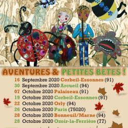 Affiche tournée spectacle