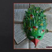L'oiseau pour l'opéra intitulé Brundibar