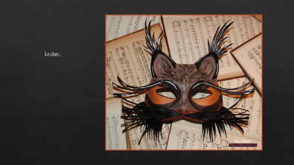 Le chat pour l'opéra intitulé Brundibar