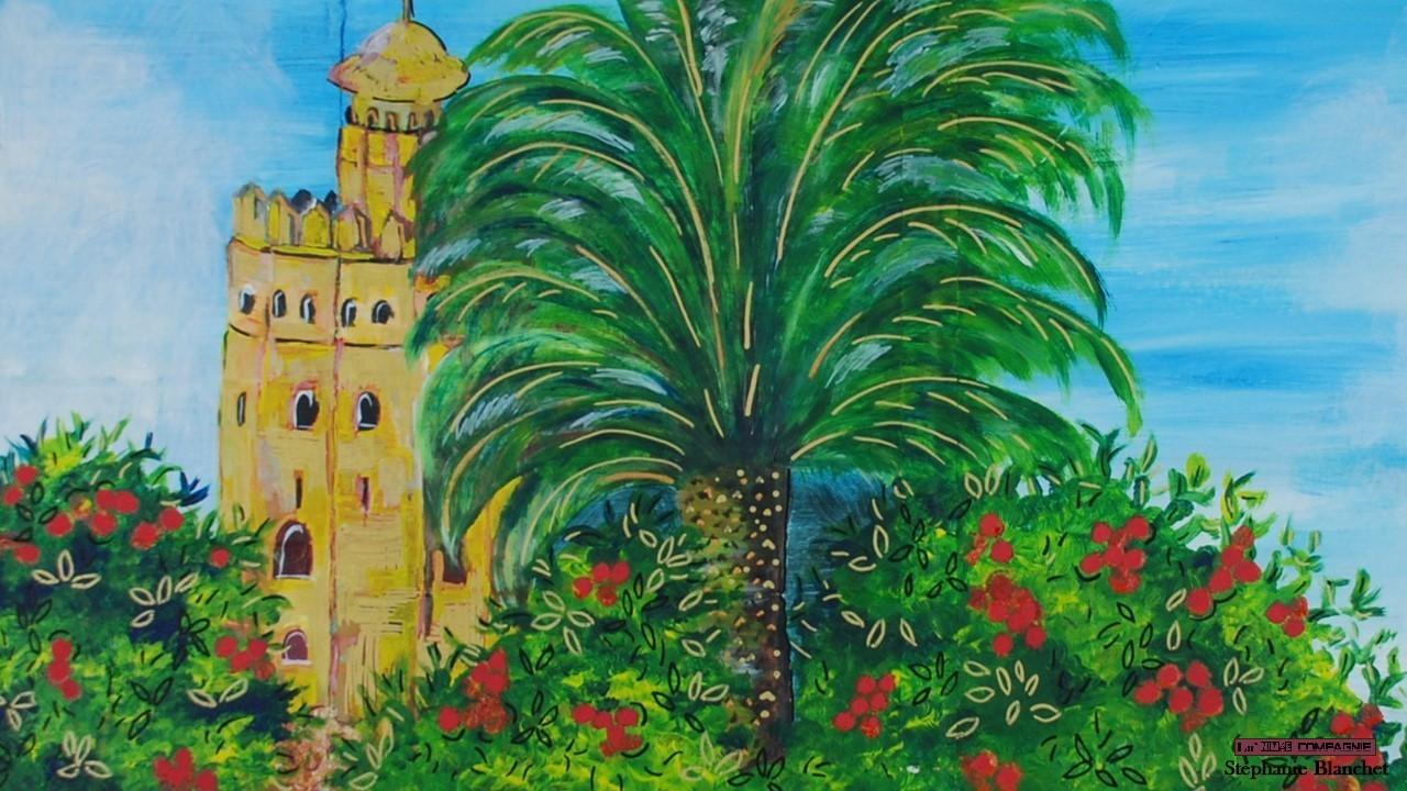 El Torre del Oro Séville/ Spectacle Scarlatti