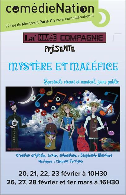 Poster Comédie Nation Février 2018